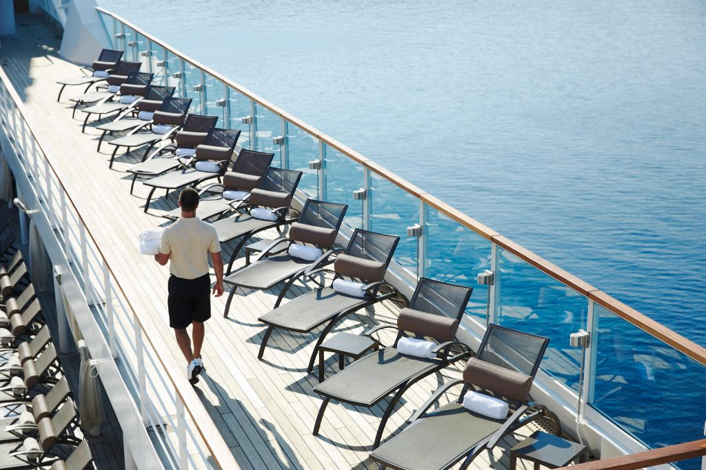 seabourn on deck